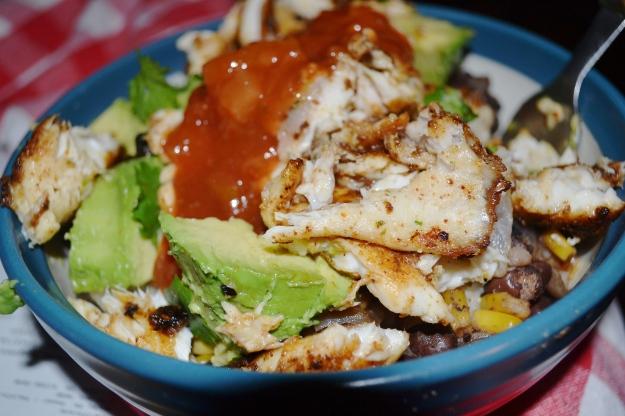 05.9.13 Spicy Tilapia Quinoa Bowl