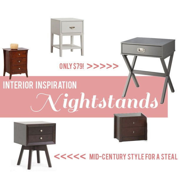 Inexpensive Nightstand Roundup