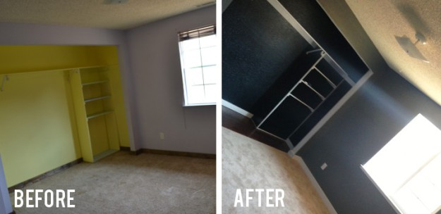 Game Room Before and After
