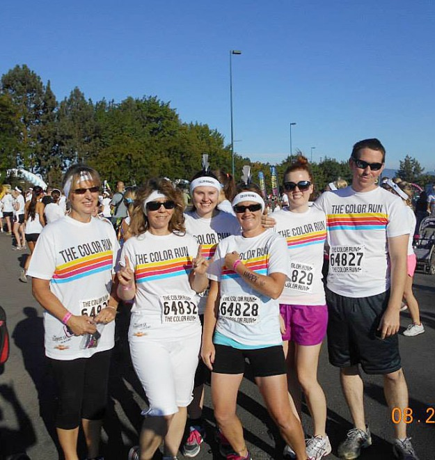 Color Run Before