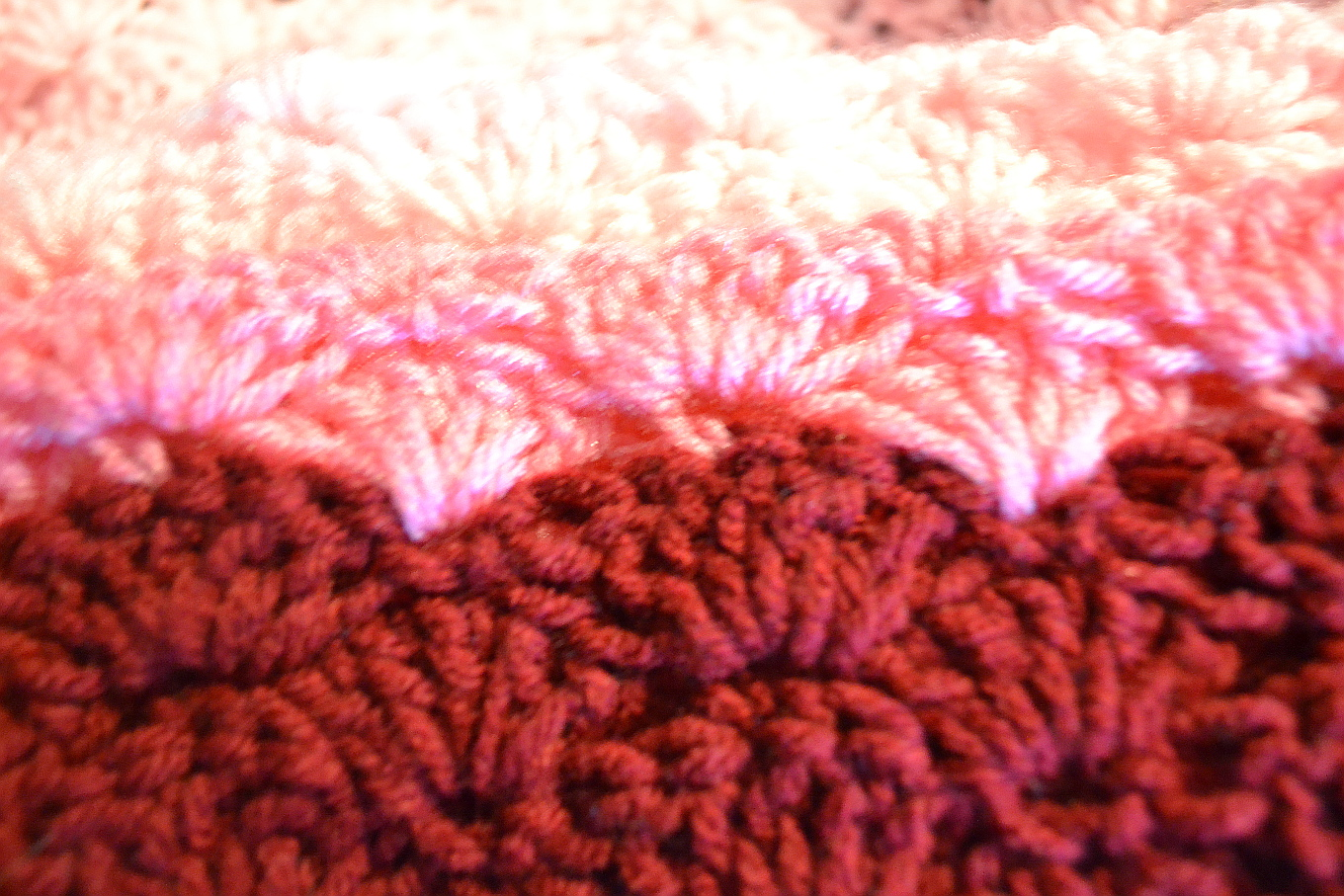 Crochet Stitches Shell Instructions : Shell Stitch