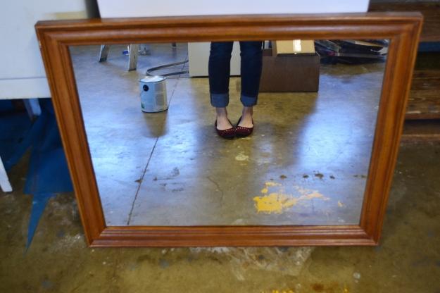 Thrift Store Mirror