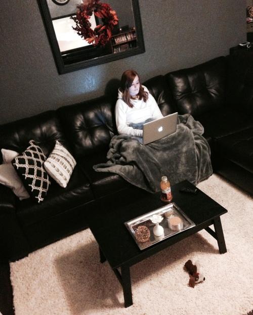 Living Room Blogging