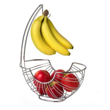 Banana hanger with fruit bowl