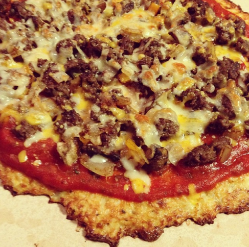Cauliflower Crust Pizza