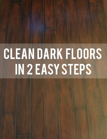 Clean Dark Floors