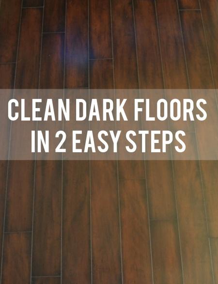 Clean Dark Floors