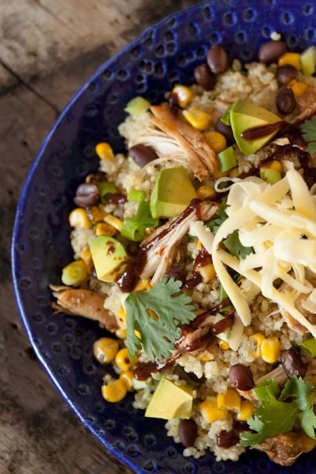 Source Barbecue Chicken Quinoa Bowls