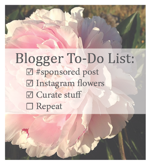 I made myself a to-do list since it's been so long since I've blogged.